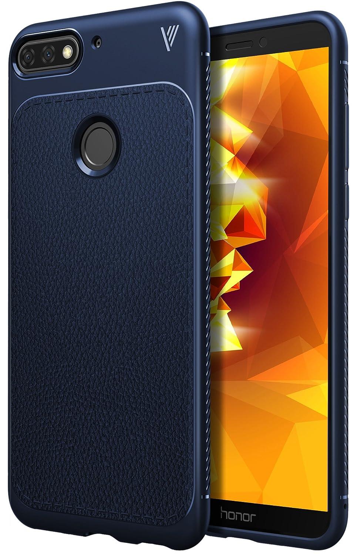 iBetter Coque Honor 7A, [Souple Etui de protecteur] Nouveau modè le Shock absorption Coquille arriè re Souple, Housse Etui TPU Silicone Coque en silicone pour Honor 7A Smartphone(noir)
