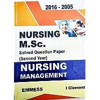 nursing M.SC solved question paper