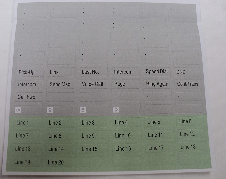 M7100 M7208 M7310 M7324 M7000 Series Lit Pack for Nortel Phone ...