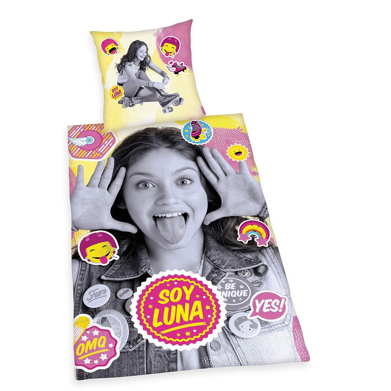 Herding Disney Soy Luna - Juego de Cama Reversible (Funda de ...