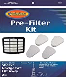EnviroCare Replacement Vacuum Filters for Shark Navigator Lift-Away NV350, NV351, NV352, NV355, NV356, NV356E, NV357 Pre-Filter Kits (2 Foam and 2 Felt Filters) + 1 Hepa Filter