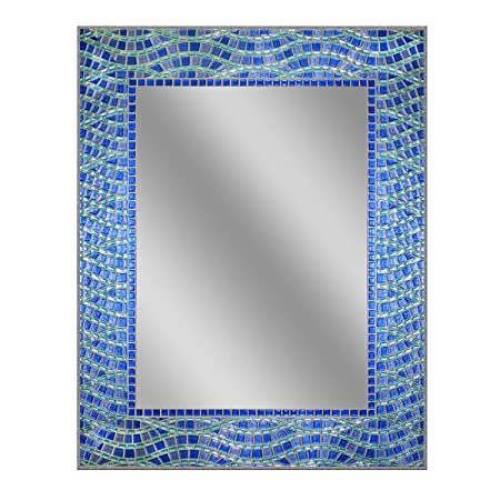 Head West 24 x 30 Blue Ocean Mirror, 24×30 inches