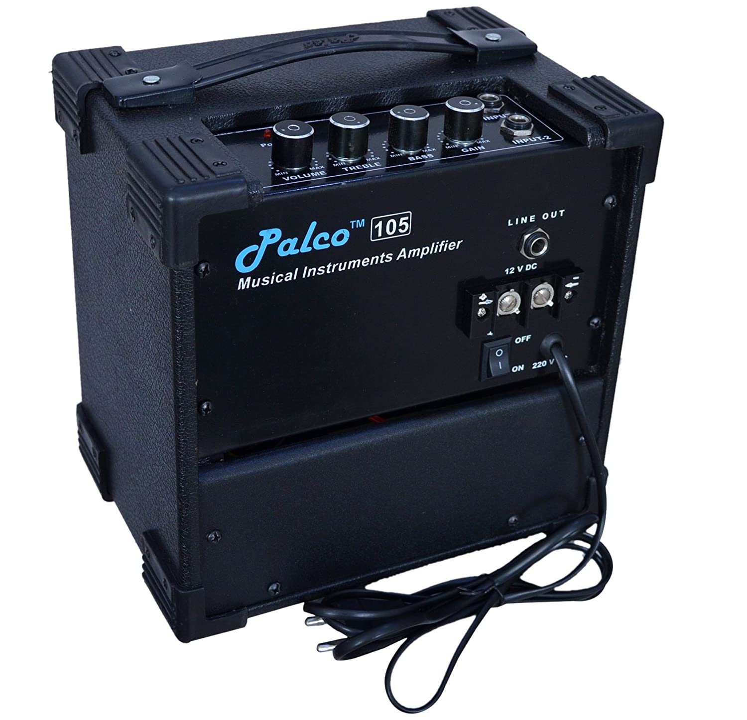 Palco Guitar Amplifier With Gain Musical Instruments Circuit Diagram For Mini Portable