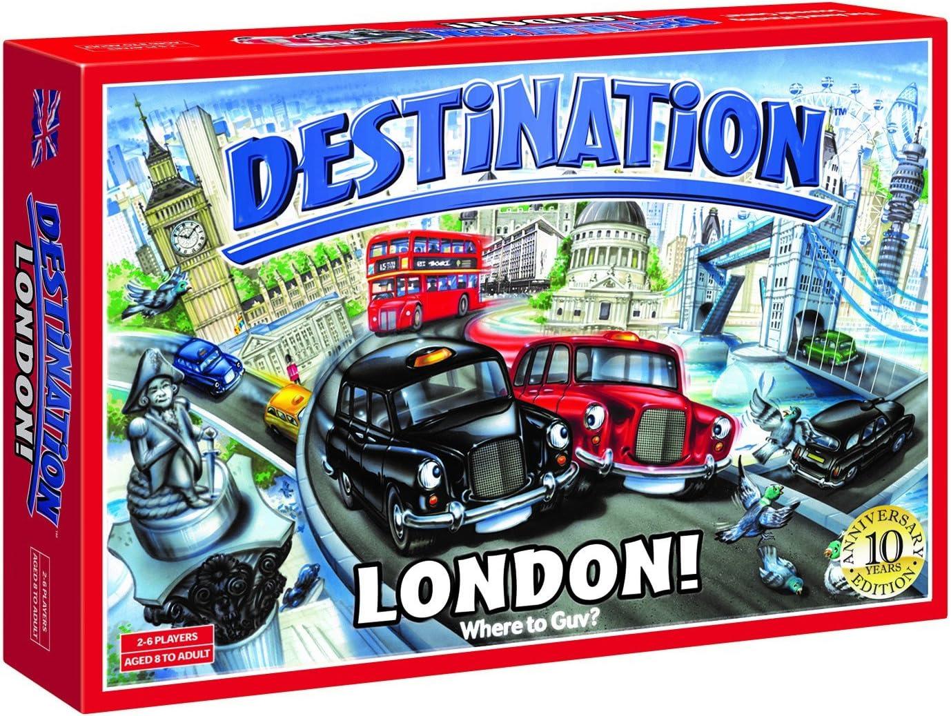 Destination London 10th Anniversary Edition Board Game: Amazon.es: Juguetes y juegos