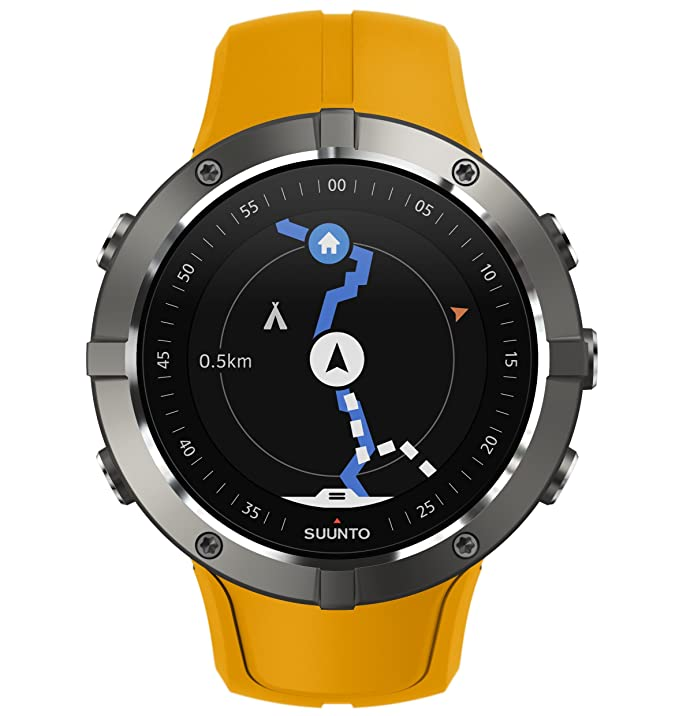 Amazon.com: Suunto Spartan Trainer Wrist HR Multisport Lightweight GPS Watch and Wearable4U Ultimate Power Pack Bundle (Amber): GPS & Navigation