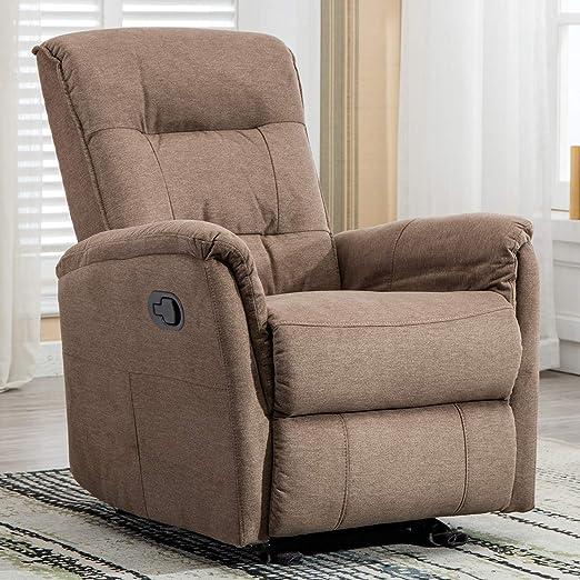 Amazon.com: Canmov - Silla reclinable de tela suave con ...