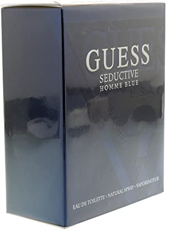 8a6d79d696 Amazon.com : GUESS Seductive Homme Blue 1.7 oz : Beauty