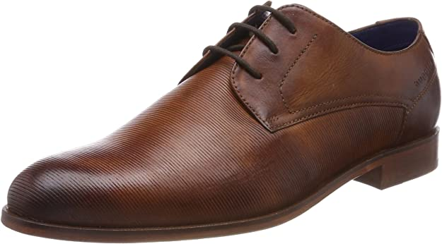TALLA 40 EU. bugatti 311457021100, Zapatos de Cordones Derby para Hombre