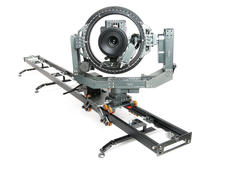 asxmov-g4s1アルミ複数軸モーションコントロールドリートラックフォーカスTimelapse Motorizedビデオデジタル一眼レフカメラスライダW/コントローラ   B07DQGKF7W
