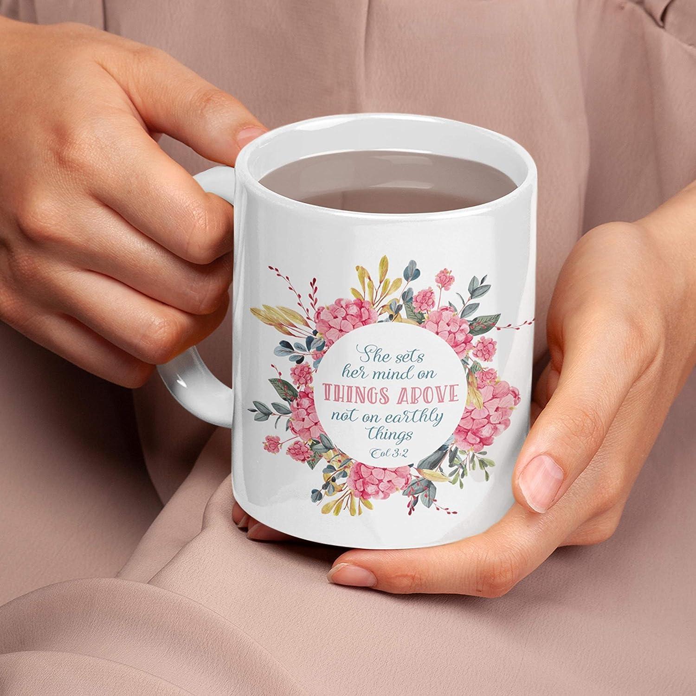 Taza de té con texto en inglés