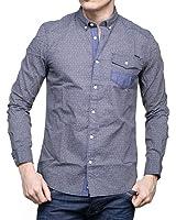 chemise kaporal raia bleu