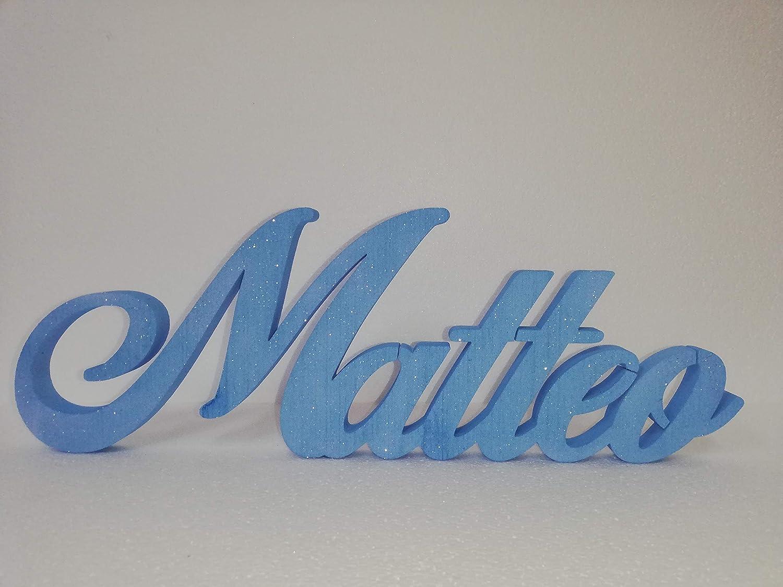 Scritta Personalizzata Nome in Polistirolo HD per lieti eventi, compleanni con larghezza max 50cm altezza 15/20cm