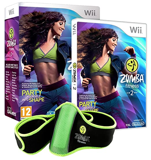 Easy Interactive Zumba Fitness 2, Wii - Juego (Wii, Nintendo ...
