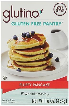 Mezcla de pancakes de arroz marrón sin gluten, 16.01 oz – 6 ...