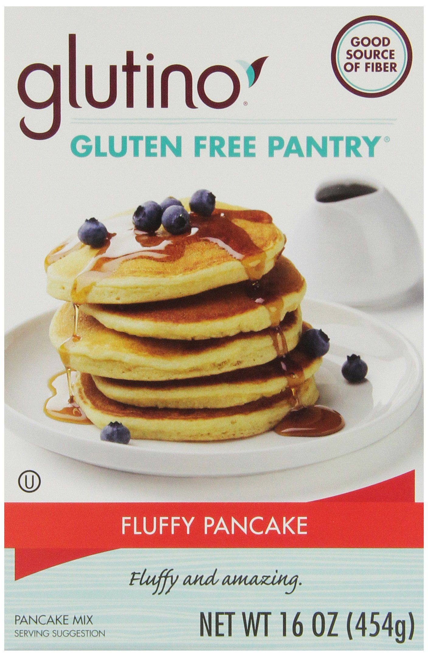 Gluten Free Pantry Brown Rice Pancake Mix, 16 Ounce - 6 per case.