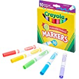Crayola Broad Line Markers, Bold & Bright Colors, Pack of 10, 1, Assorted