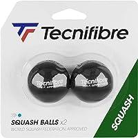 Tecnifibre Pelotas de Squash Point para Adulto, Unisex, Negro y Azul, no tamaño