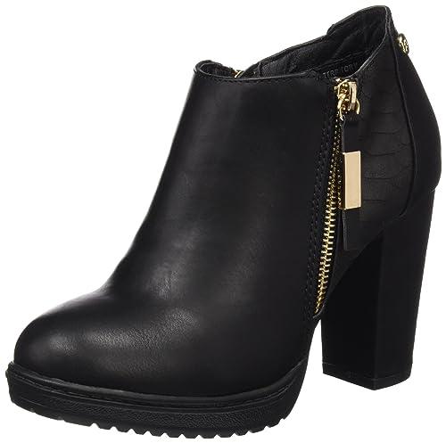 XTI 047214, Botines para Mujer, Negro (Black), 41 EU: Amazon.es: Zapatos y complementos