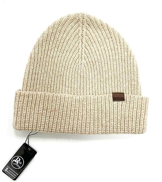 0c268dc7f Rich Cotton Merino Wool Skull Beanie Men Daily Warm Soft Winter Hat 100%  Merino Wool Knit Cuff Beanie Watch Cap Fisherman