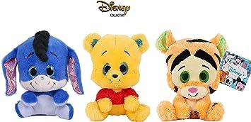 Dsney Famosa Softies - Pack de 3 Peluches de Winnie The Pooh y ...