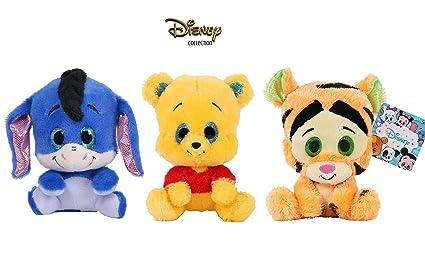 Dsney Famosa Softies - Pack de 3 Peluches de Winnie The Pooh ...