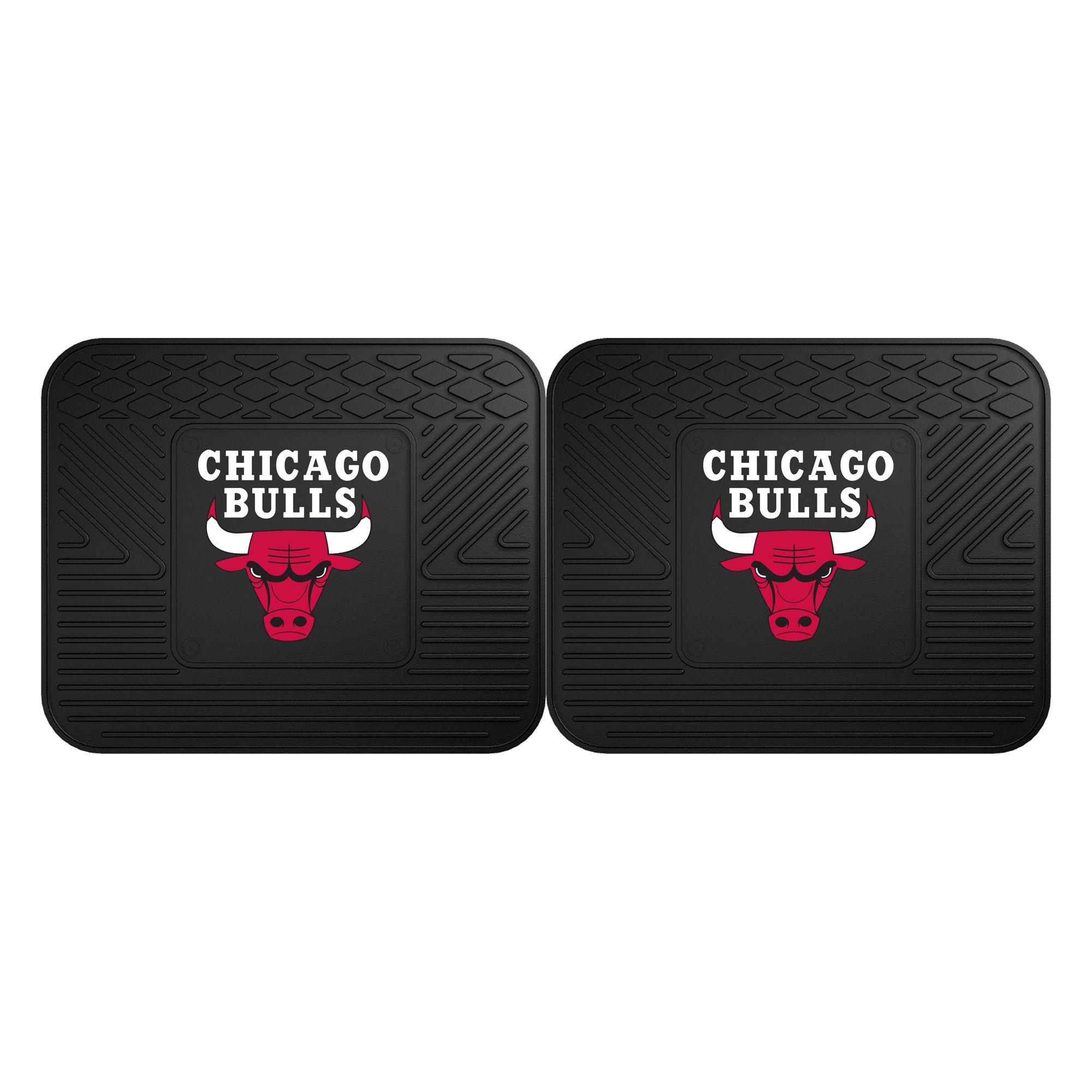 Fanmats 12366 NBA - Chicago Bulls Utility Mat - 2 Piece