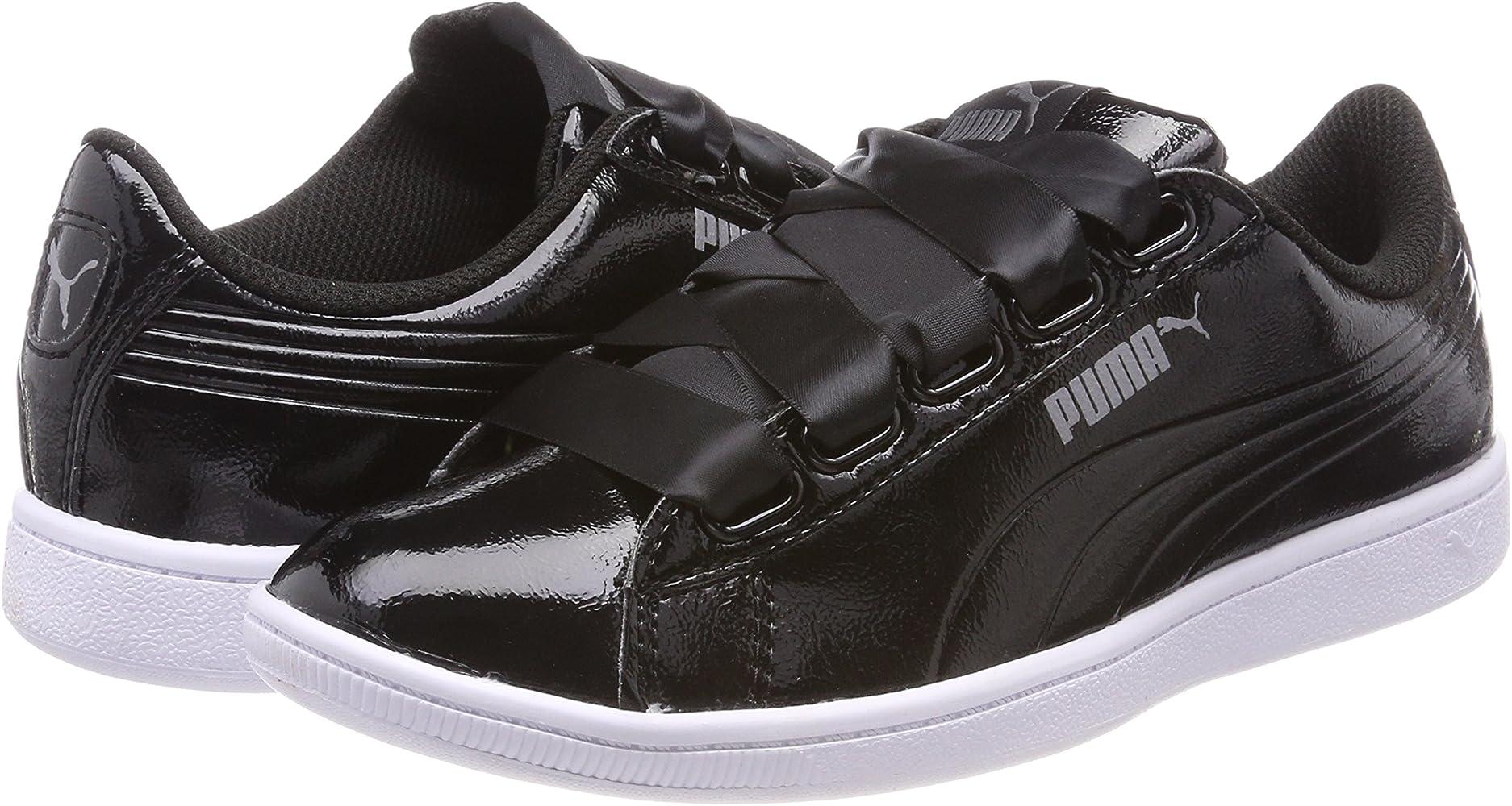 Puma Women's Vikky Ribbon Black Sneakers 7 UKIndia (40.5 EU
