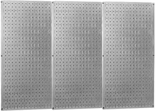 product image for Wall Control Industrial Metal Pegboard - Galvanized Metal, Three 16in. x 32in. Panels, Model Number 35-P-3248GV