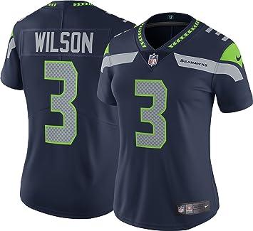 Nike Seattle Seahawks NFL Game Team Jersey - Camiseta de Manga Corta para Mujer, Color Azul, Talla S: Amazon.es: Deportes y aire libre
