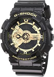 GSHOCK Men's Automatic Wrist Watch analog-digital Display and Resin Strap, GA110GB-1