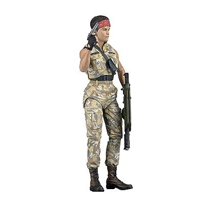 "NECA - Aliens 7"" scale action figure - Series 12 Private Jenette Vasquez (BDUs): Toys & Games"
