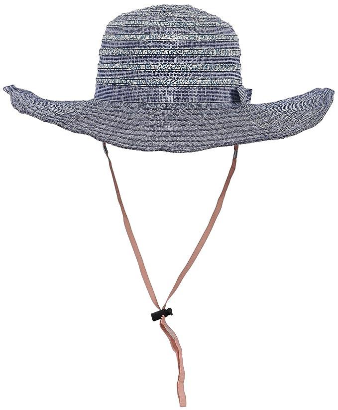 D Diana Dickson Womens' Wide Brim Floppy Summer Beach Sun Hat
