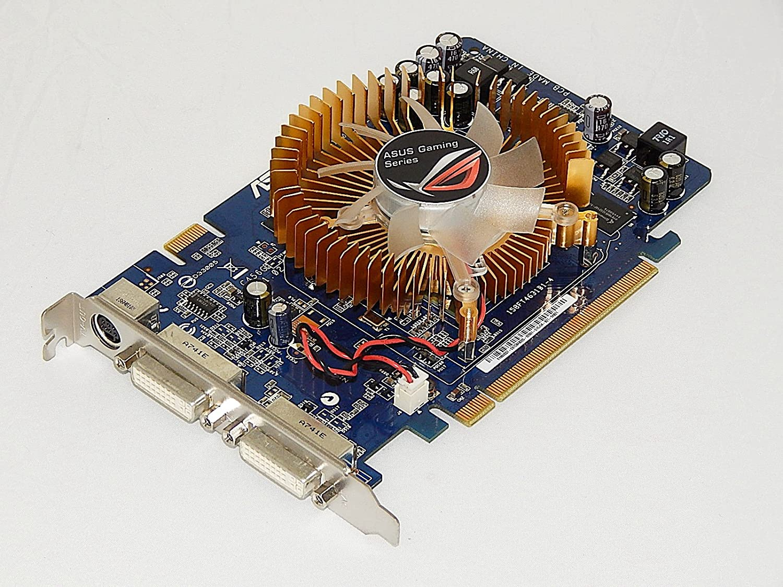 Amazon Com Asus En8600gt Htdi 256m A Nvidia Geforce 8600gt 256mb 128 Bit Gddr3 Pci Express X16 Sli Hdcp Video Card W 2dvi Hdtv Computers Accessories