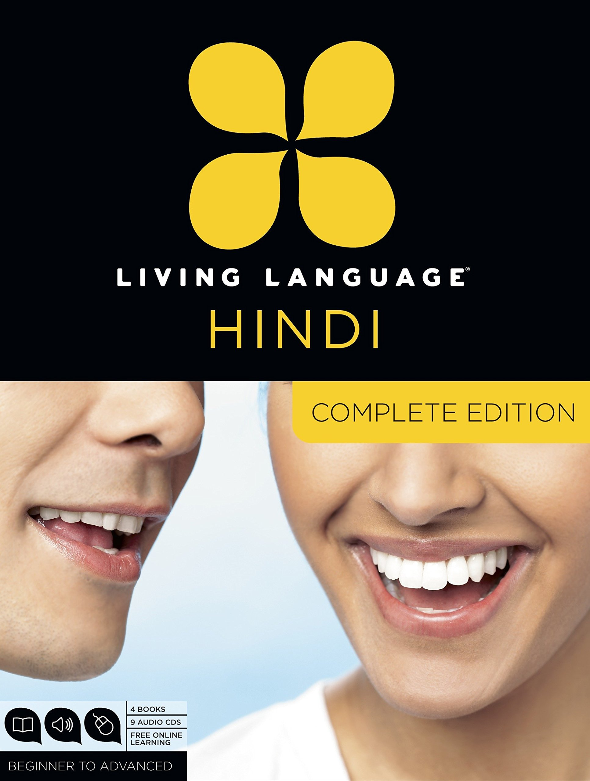 Living Language Hindi, Complete Edition: Beginner through advanced course,  including 3 coursebooks, 9 audio CDs, Hindi reading & writing guide, and