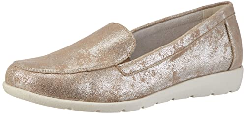 Womens D1919 Loafers, Beige, 4 UK Remonte