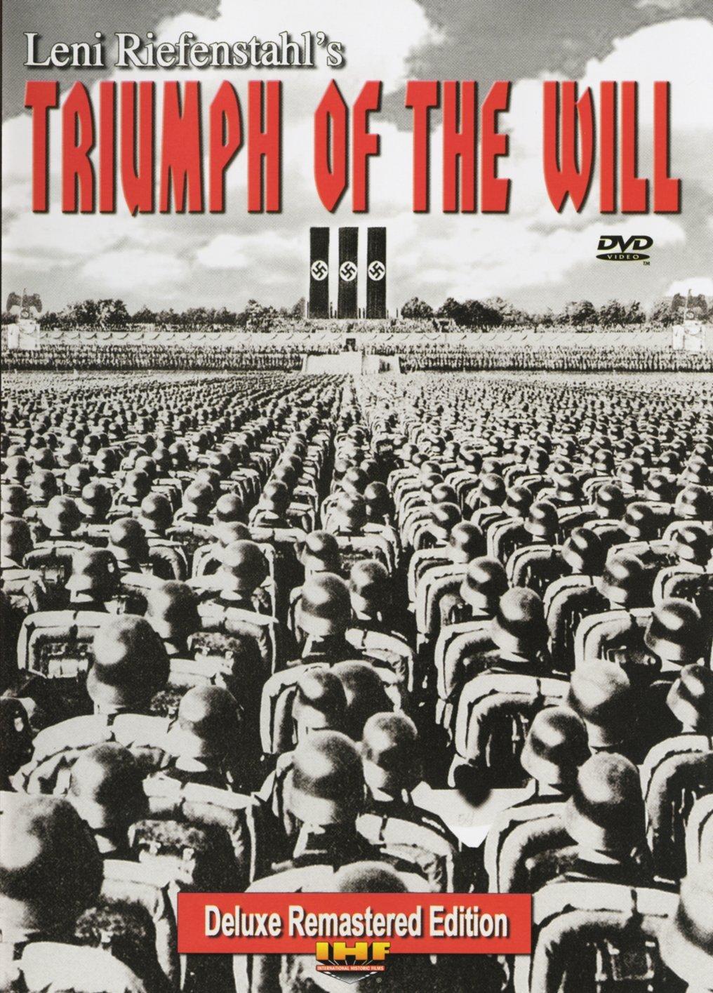 Amazon.com: Triumph of the Will (Remastered IHF Deluxe Edition): Adolf Hitler, Hermann Goering, Rudolf Hess, Werner Von Blomberg, Werner Von Fritsch, Joseph Goebbels, Heinrich Himmler, Leni Riefenstahl: Movies & TV