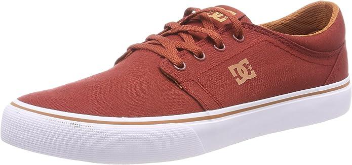 DC Shoes Trase TX Sneakers Herren Burgunder Rot