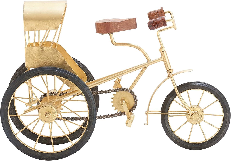 Bicycle Three wheels Basket Vintage Iron Paint White-Sugared reaglo