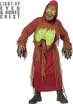 WIDMANN 07927 infantil Disfraz de Zombie Esqueleto, 140 cm: Amazon ...