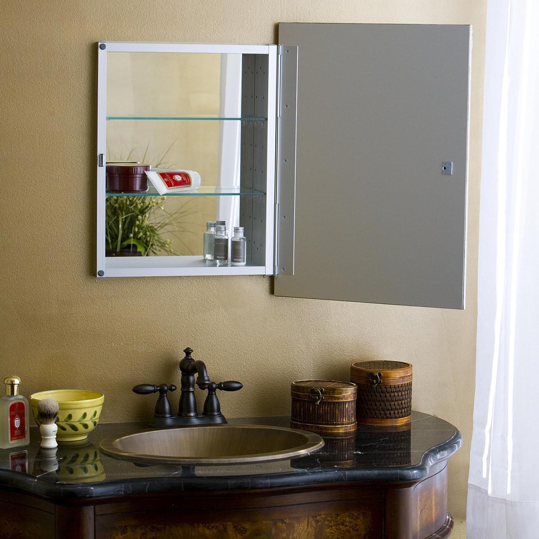 Amazon.com: Basix Plus Medicine Cabinet In Antique White Finish (Medium):  Home Improvement