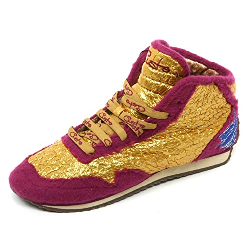 Custo B8964 Sneaker Donna Barcellona Belana Scarpa Oro/Fucsia Shoe Boot Woman [37] DTg1Qk