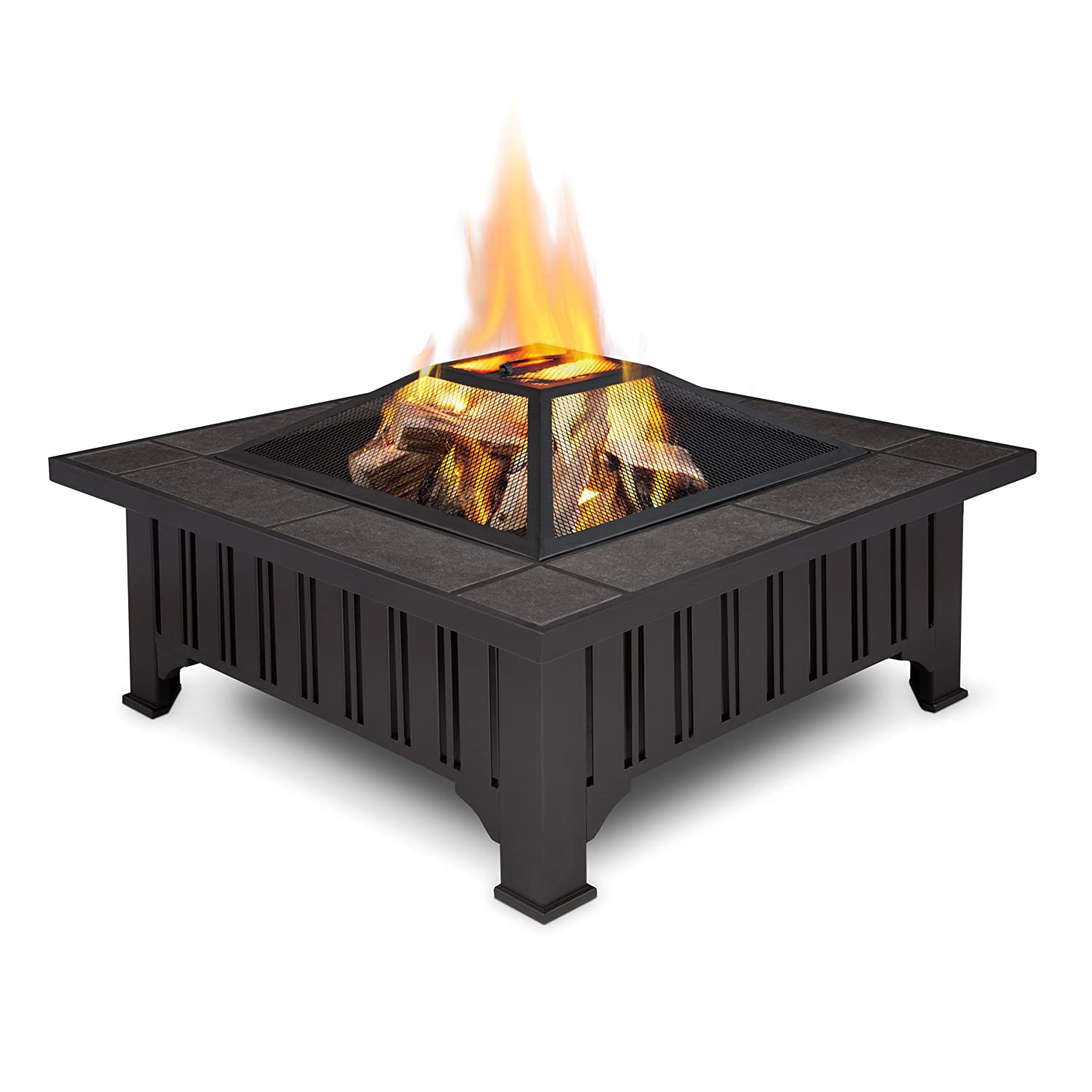 Superb Amazon.com : Real Flame Lafayette Fire Pit : Fire Pit Table : Garden U0026  Outdoor
