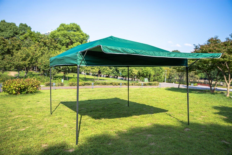Sekey 3x3m Cenador, Tienda Plegable/Retractable del Partido de jardín, Taupe, Modelo de Ischia, con Aleros: Amazon.es: Jardín
