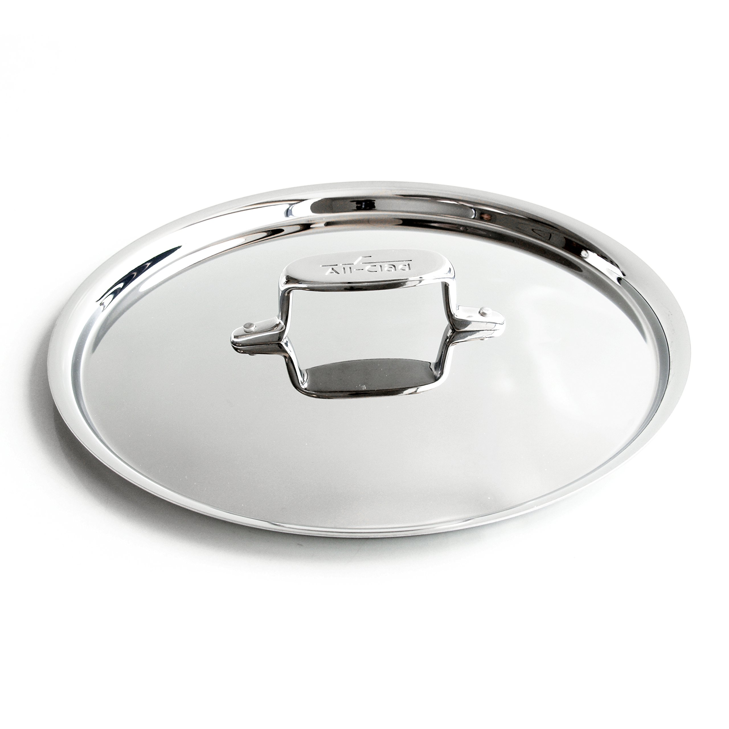 All-Clad D5 Brushed Stainless Steel Cookware Lid, 10.5 inch by All-Clad (Image #1)