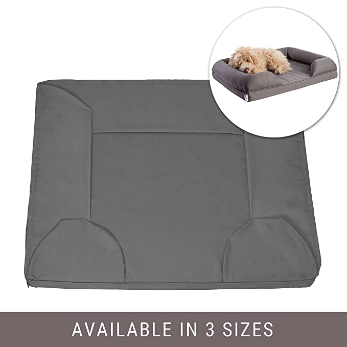 Prime Petlo Pet Sofa Bed Replacement Cover Removable Water And Scratch Resistant Machine Washable And Easy To Clean Dual Zipper With Gusset Evergreenethics Interior Chair Design Evergreenethicsorg
