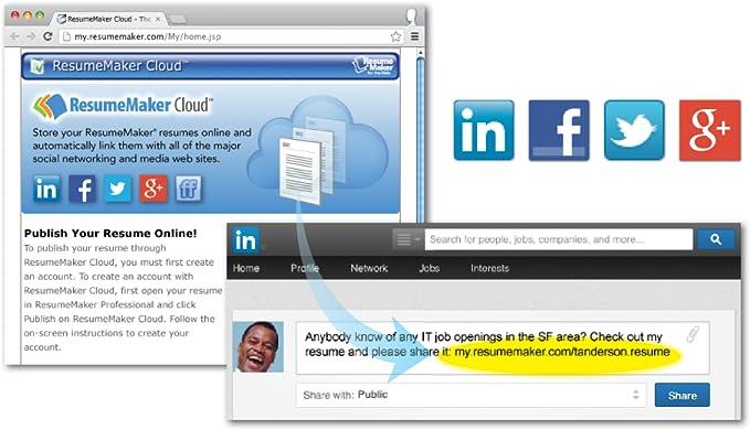 amazoncom resumemaker professional deluxe 19 download software