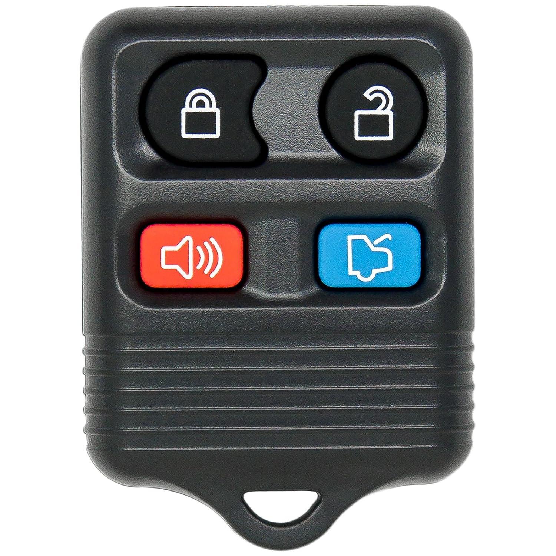 Amazon com 1998 2009 ford taurus 4 button remote keyless entry key fob automotive