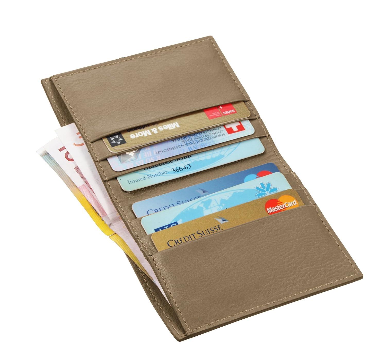 Lucrin - Etui für Kreditkarten und Geldscheine - Glattleder PM1192_VCLS_BLR_Royal Blue_10 PM1192_VCLS_BLR_Azurblau_10