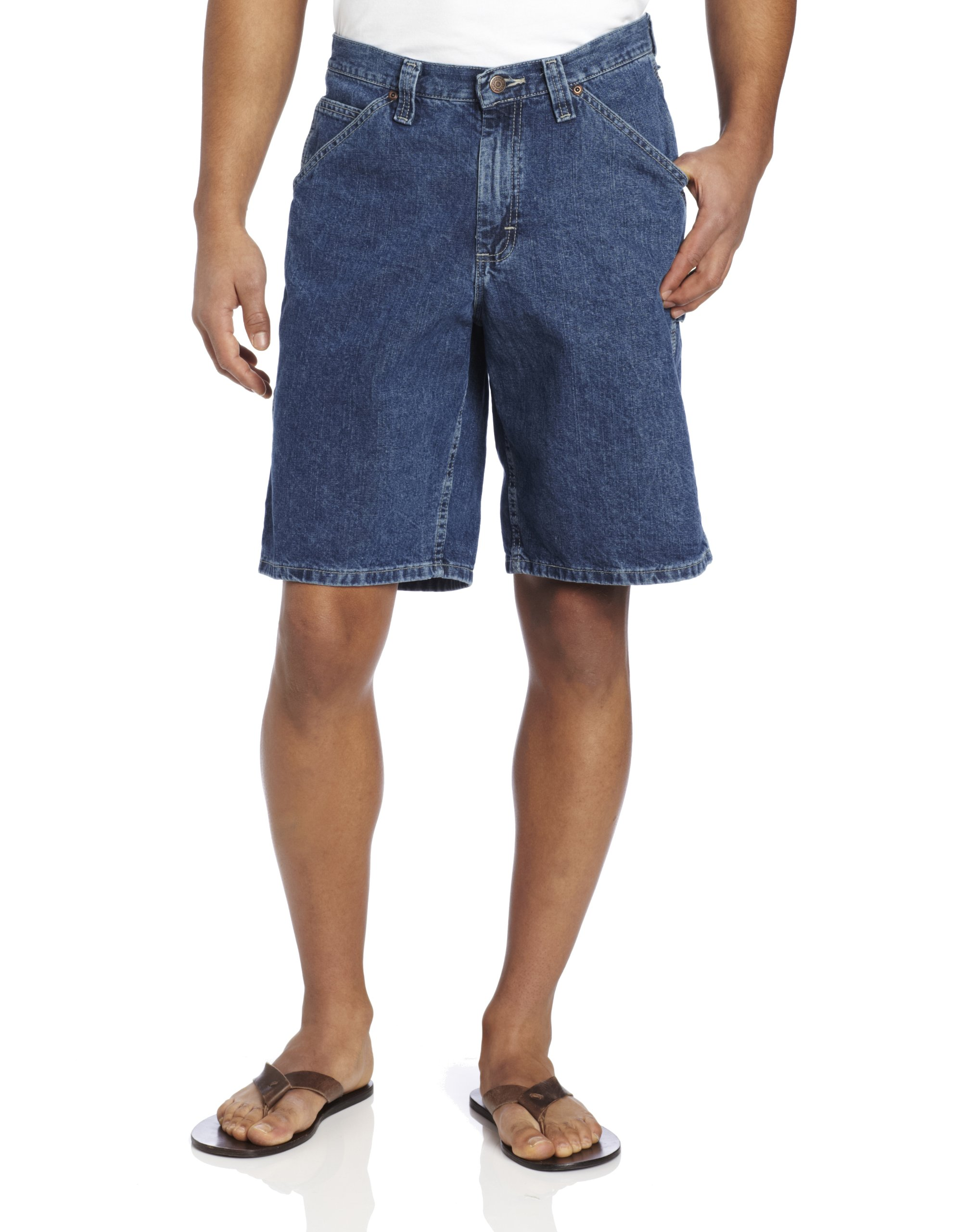 LEE Men's Big-Tall Carpenter Short, Original Stone, 52