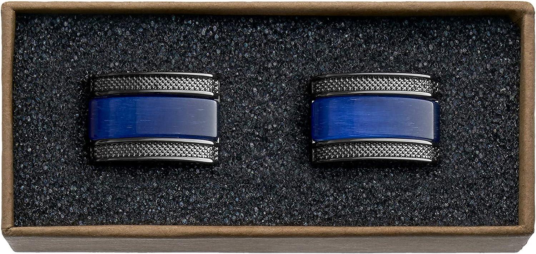 Mens Essentials in Box dans une bo/îte VALDERO/® Boutons de manchette pour hommes